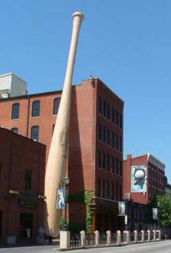 photo of Louisville Slugger plant