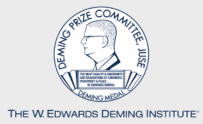 image of the Deming medal