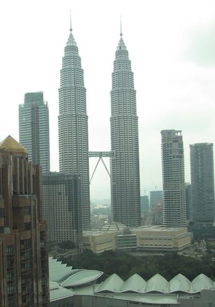photo of Petronas Towers in Kuala Lumpur, Malaysia.