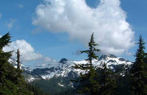 Photo of mountain view, North Cascade National Park