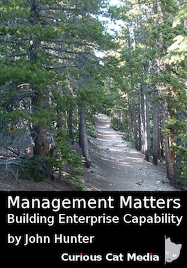 image of the cover of Managmenet Matters by John Hunter