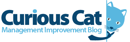 Curious Cat Management Improvement blog logo