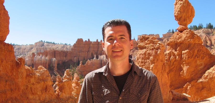 John Hunter at Bryce Canyon National Park
