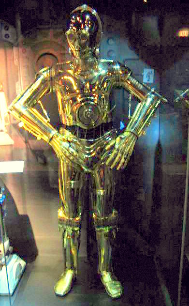 C3PO android from Star Wars